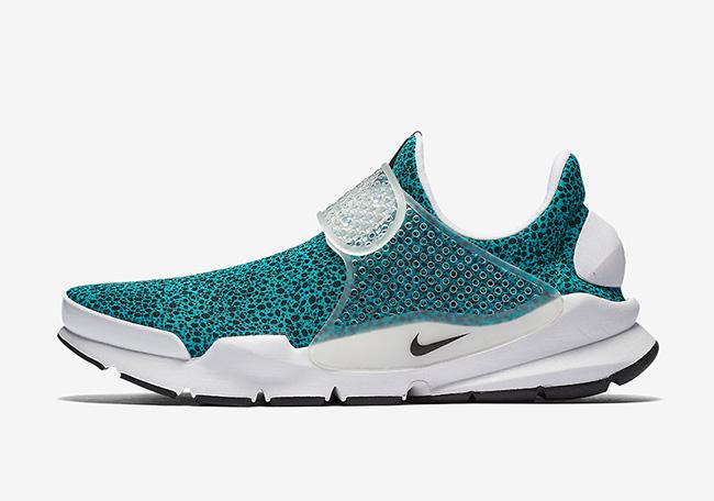 Nike Sock Dart Safari Pack Turquoise 942198-300