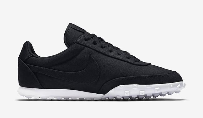 Nike Waffle Racer 17 Textile Black White