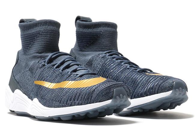 Nike Zoom Mercurial Flyknit Blue Fox