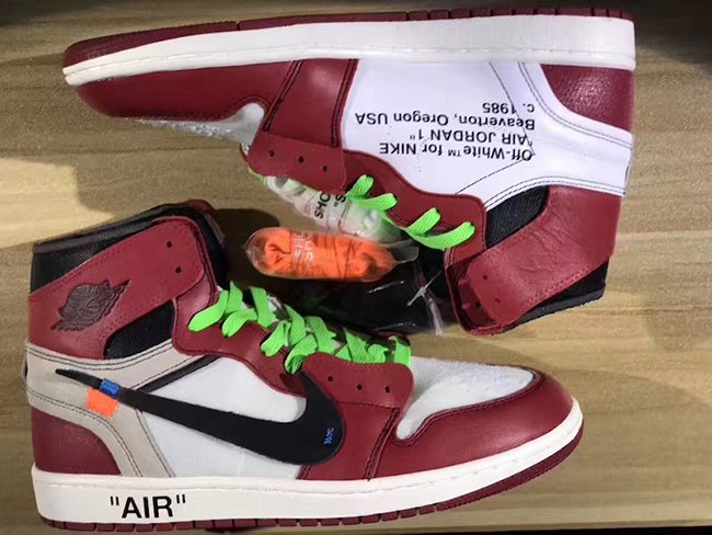 OFF-WHITE Air Jordan 1 Chicago 10X