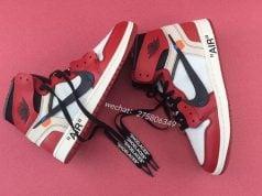 OFF-WHITE Air Jordan 1 Chicago Release