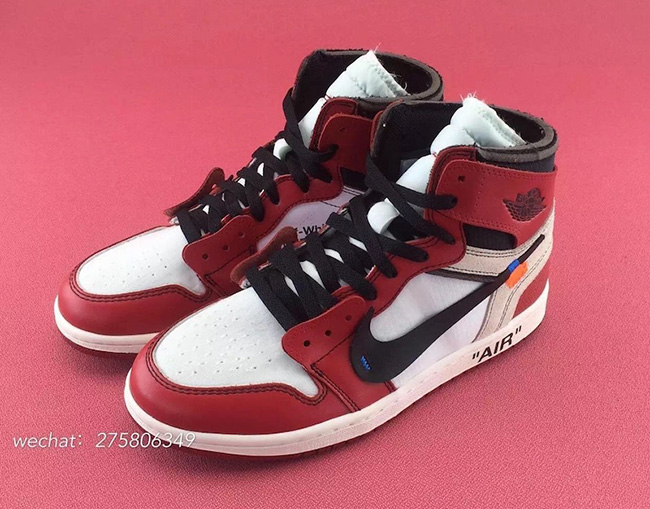 huge discount 6ab91 b6b7f OFF-WHITE Air Jordan 1 Chicago AA3834-101 Release Date ...