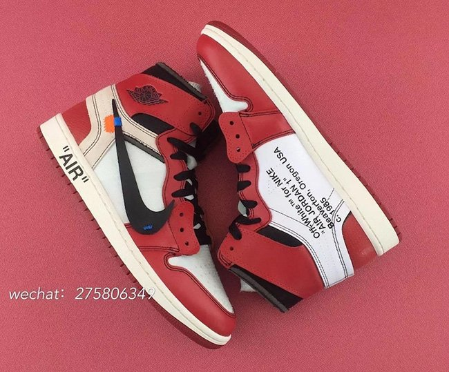 OFF-WHITE Air Jordan 1 Chicago Release