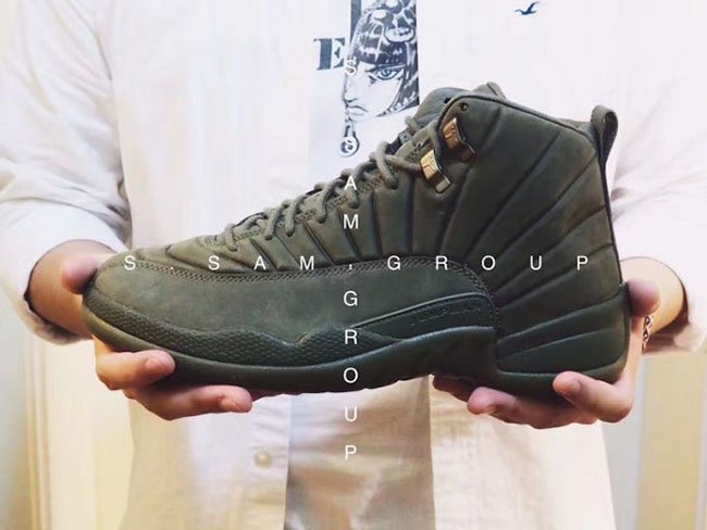 huge selection of 6e958 39fc1 Olive PSNY Air Jordan 12 Release Date