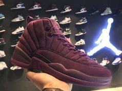 PSNY Air Jordan 12 Bordeaux