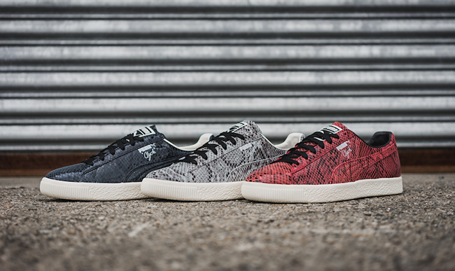 Puma Clyde Snake Pack