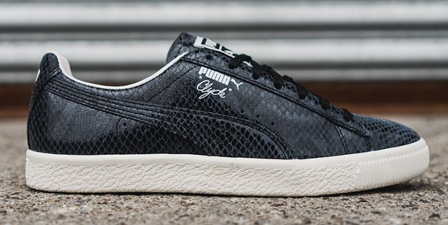 Puma Clyde Snake Pack Black