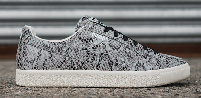 Puma Clyde Snake Pack Grey