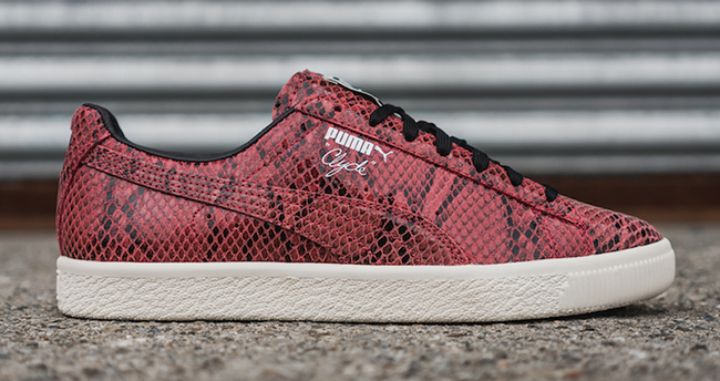 Puma Clyde Snake Pack Red
