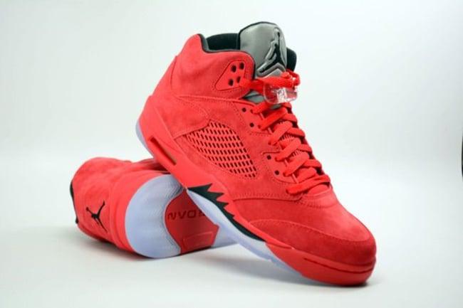 jordans 5 retro red