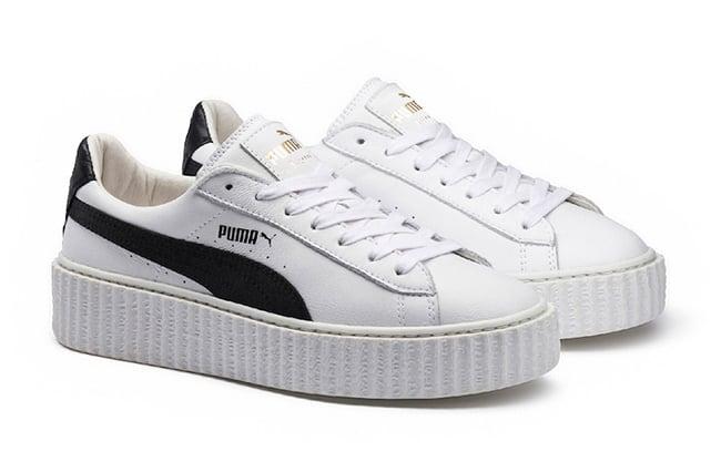 Puma Fenty Rihanna En Blanco Y Negro uN0JyFvT