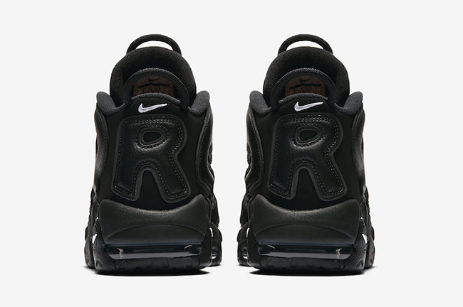 Supreme Nike Air More Uptempo Black