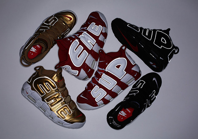 Supreme Nike Air More Uptempo Release Date
