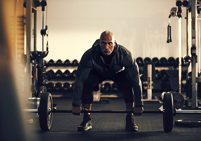 The Rock Under Armour Sneakers