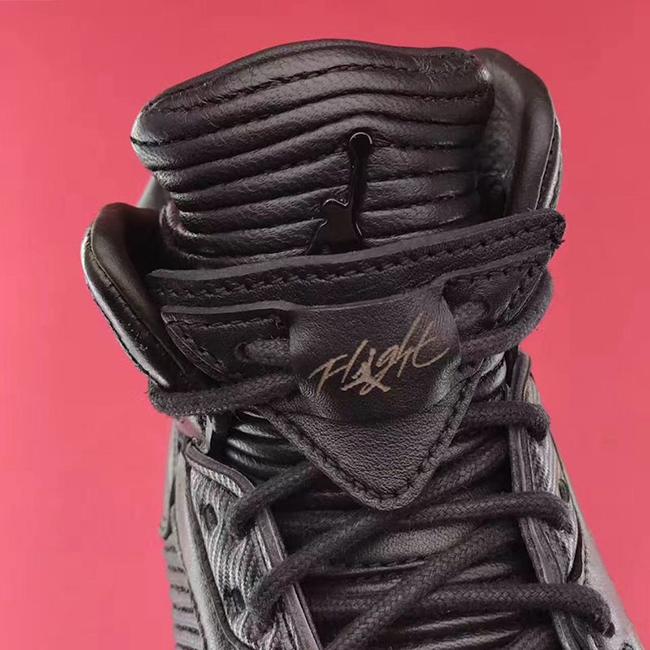 Triple Black Air Jordan 5 Premium