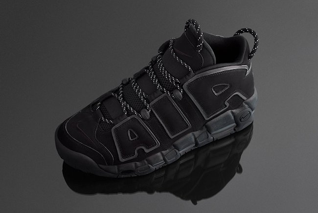 Triple Black Nike Air More Uptempo