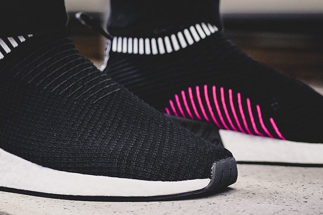 adidas NMD City Sock 2 Primeknit Shock Pink Black