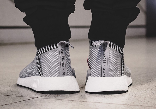 adidas NMD City Sock 2 Primeknit Shock Pink Grey