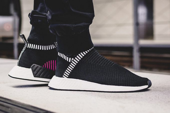 adidas Nmd City Sock 2 Black White Sneaker herren