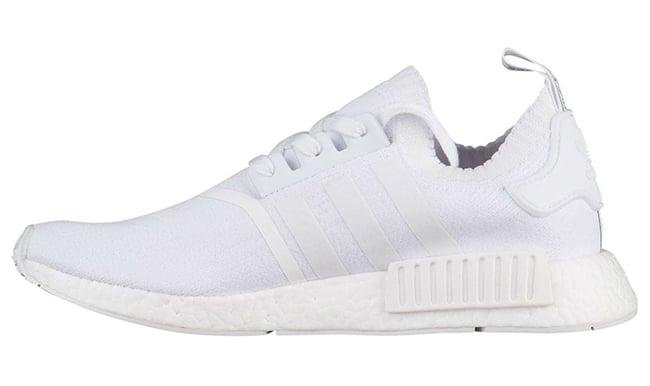 Adidas Nmd R1 Primeknit Japan Triple White Black Sneakerfiles
