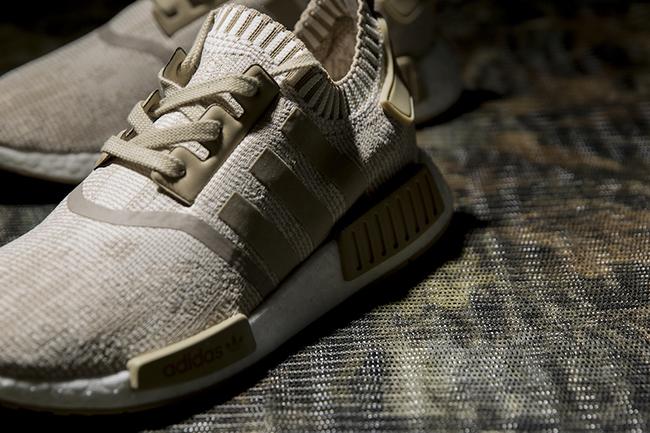 wholesale dealer b1366 caaf5 adidas NMD R1 Primeknit Oreo Khaki | SneakerFiles