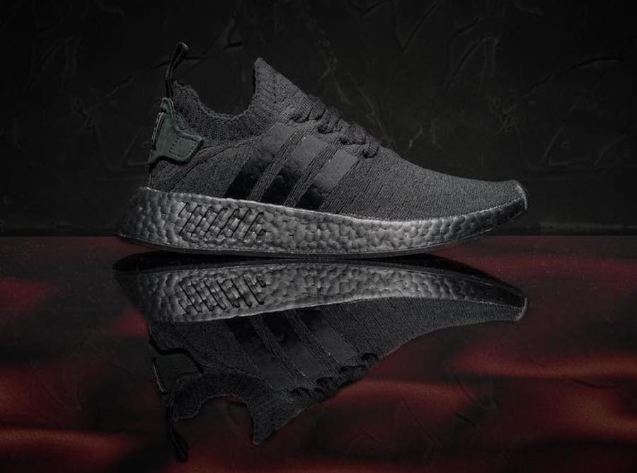 adidas NMD R2 Primeknit Triple Black Release Date | SneakerFiles