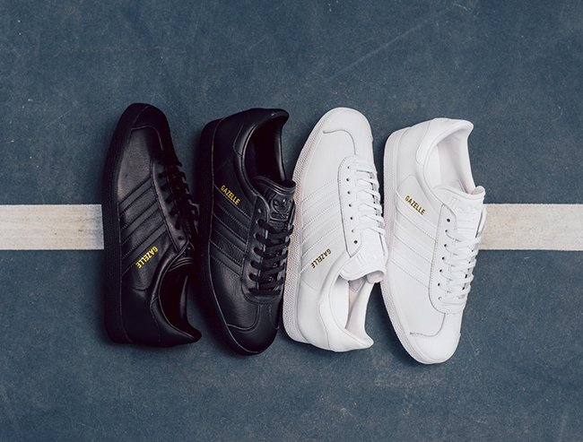 Contratado avaro biblioteca  adidas Originals Leather Gazelle Collection | SneakerFiles
