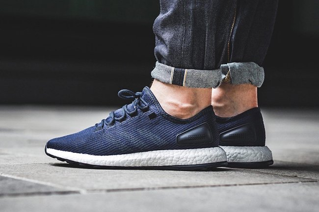 release date footwear clearance prices adidas Pure Boost Night Navy BA8898 | SneakerFiles
