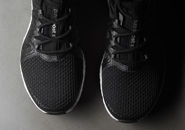 adidas Pure Boost Xpose Black White