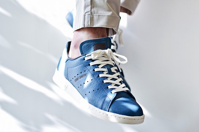 adidas Stan Smith Horween Leather Blue