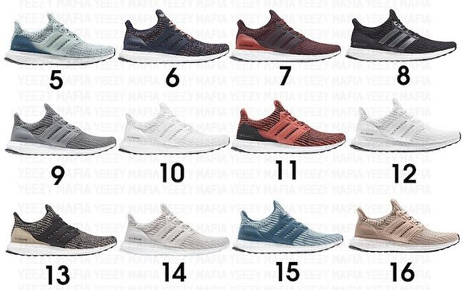 adidas Ultra Boost 4.0 2018 Colorways Release Dates