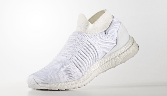 adidas Ultra Boost Laceless Mid Triple White Release Date