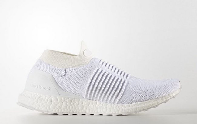 2a9f0c430 adidas Ultra Boost Laceless Mid Triple White S80768 Release Date ...