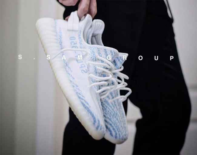 adidas Yeezy Boost 350 V2 Blue Zebra Release Date