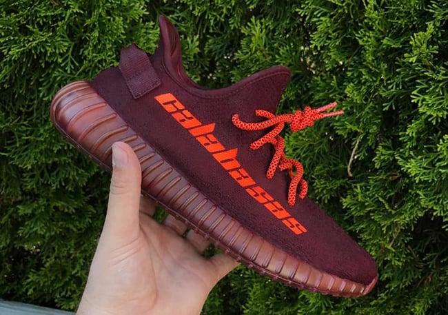adidas Yeezy Boost 350 V2 Calabasas Custom