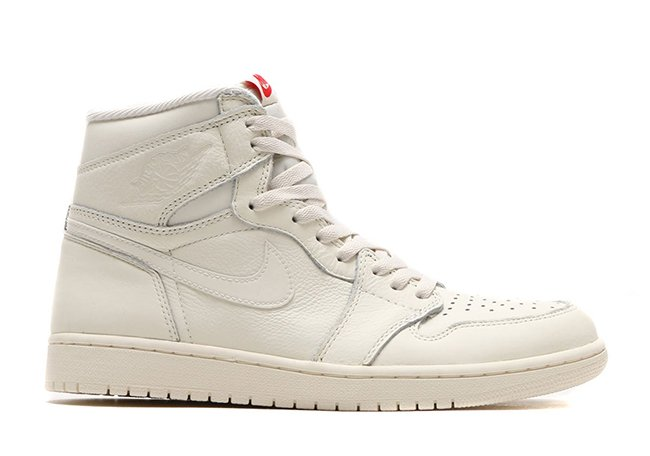 Air Jordan 1 High OG Sail University Red 555088-114 Release Date