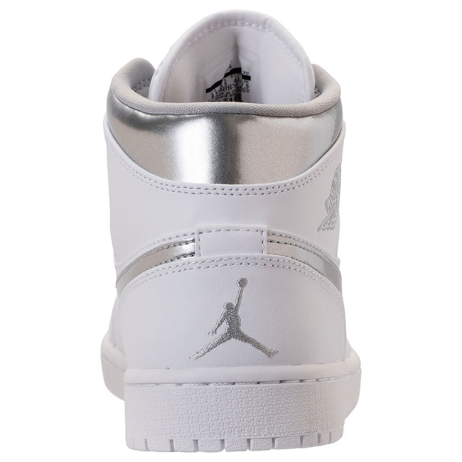Air Jordan 1 Mid Metallic Silver Release Date