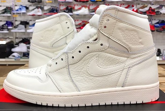 Air Jordan 1 OG Sail University Red Release Date
