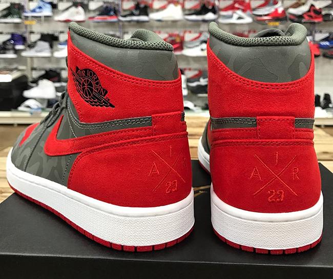 Air Jordan 1 P51 Camo Pack Red Release Date