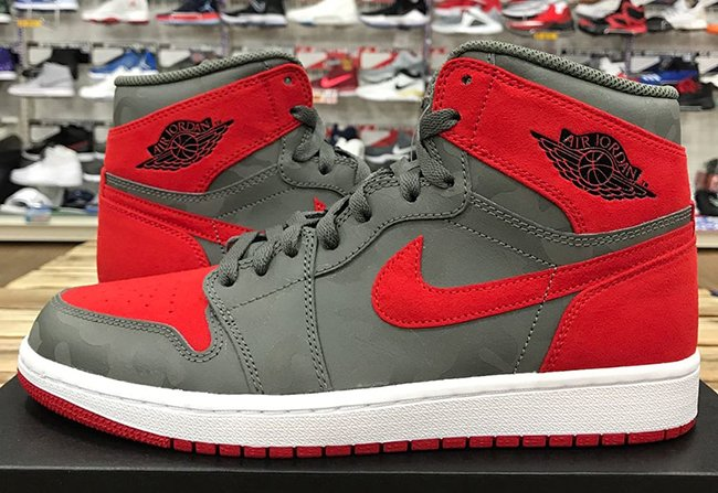 Air Jordan 1 P51 Camo Pack Red Release Date