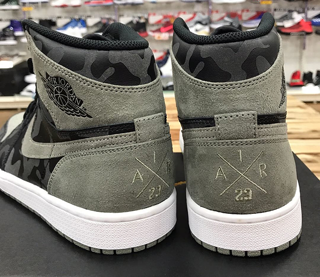 Air Jordan 1 P51 Camo Pack Shadow Release Date