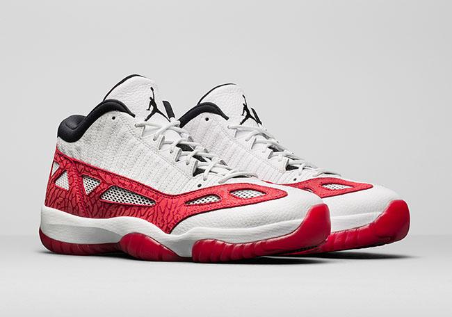 Air Jordan 11 Low IE Fire Red Release Date