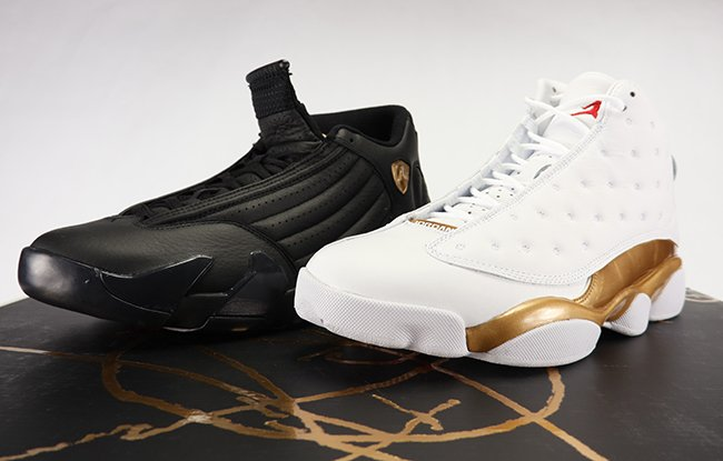 new product b60bd 5dd42 Air Jordan 13 14 DMP Defining Moments Pack Review Unboxing