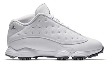Air Jordan 13 Low Golf White Black