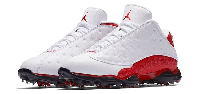 Air Jordan 13 Low Golf White Red May 2017 Release Date