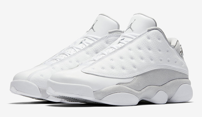 Air Jordan 13 Low Pure Platinum May 2017 Release Date