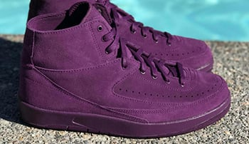 Air Jordan 2 Deconstructed Bordeaux