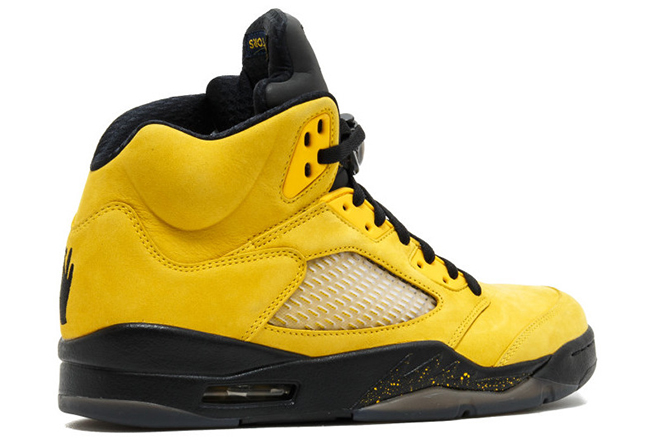 Air Jordan 5 Fab Five Michigan