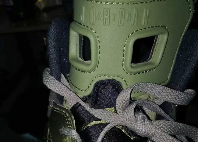 First Look: Air Jordan 6 'Flight Jacket' with Quilted Nylon