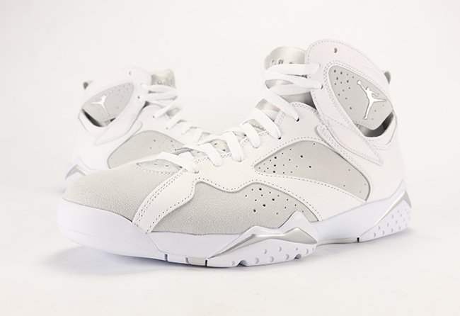 76c66e8b6e55 Air Jordan 7 Pure Money Pure Platinum Review On Feet